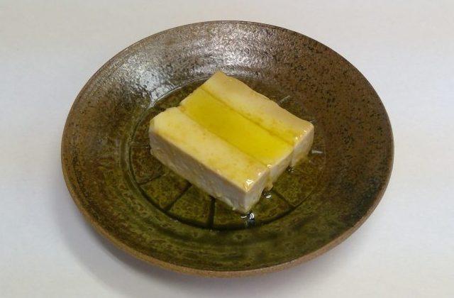 豆腐の味噌&エキストラバージン漬け【レシピ】