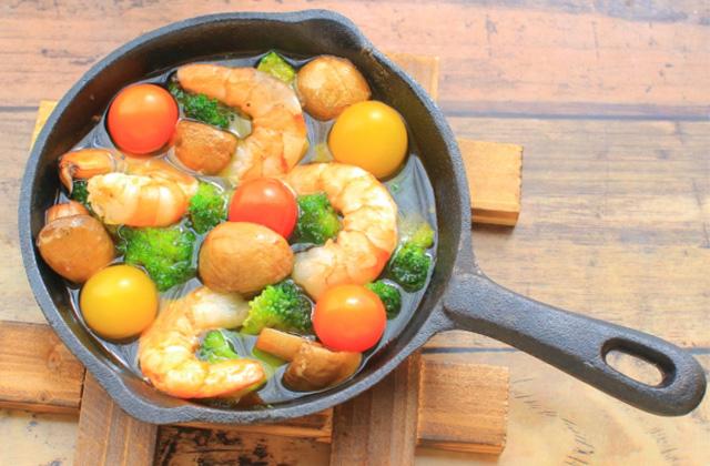 オリーブオイルを使った人気レシピ アヒージョ