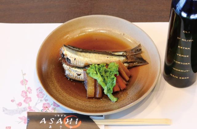 真いわしの生姜煮【レシピ】