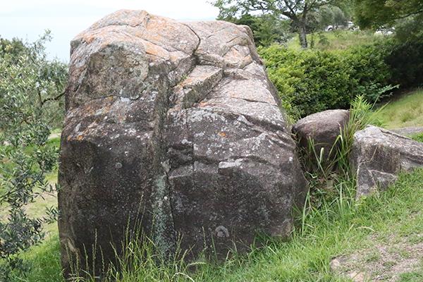 ゴリラ岩_牛窓オリーブ園のフォトスポット