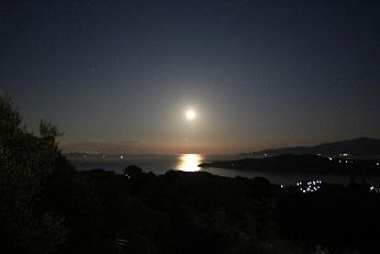 【農園だより】満月とムーンロード