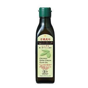 有機栽培エキストラバージンオリーブオイル シングル180g
